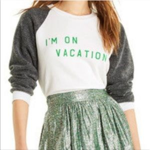 WILDFOX | Graphic Long Sleeve Sweater